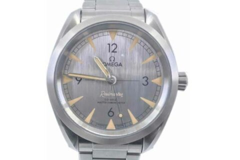 Omega Railmaster Master Chronometer Watch