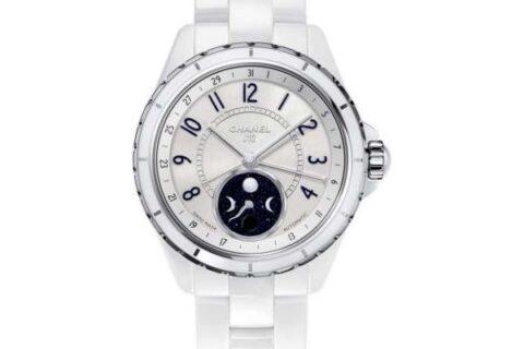 Chanel J12 Moophase White Ceramic watch