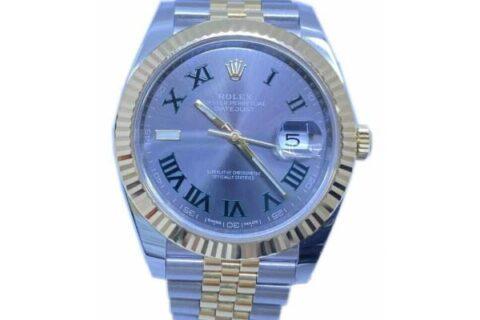 Rolex DateJust Wimbledon Watch