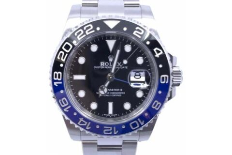Rolex GMT Master-II Batman watch