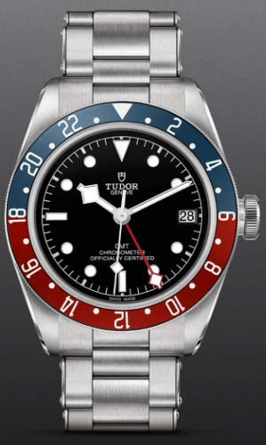 NEW Tudor Black Bay GMT on an oyster riveted style bracelet
