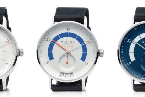 New Nomos Glashutte Autobahn Collection Head On