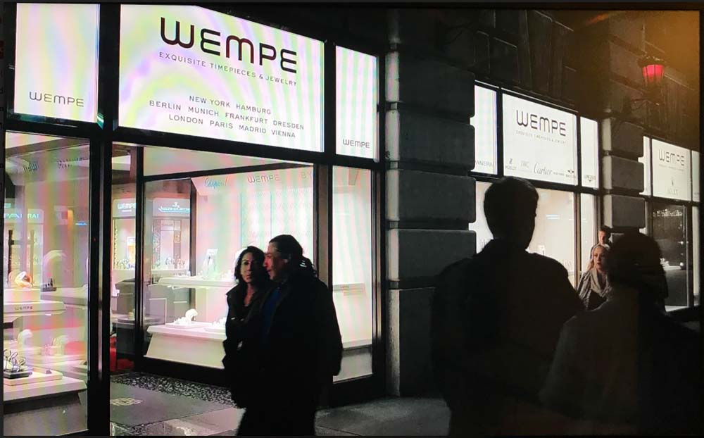 Wempe luxury watch boutique in NYC