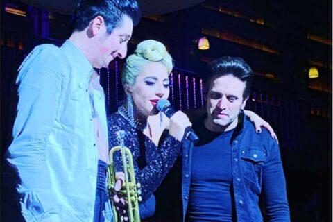 THe iconic Lady Gaga performing @ Nomad Restaurant
