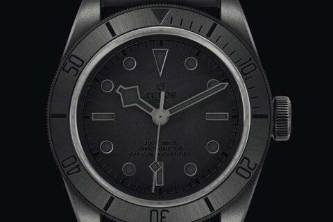 Tudor Black Bay Ceramic watch