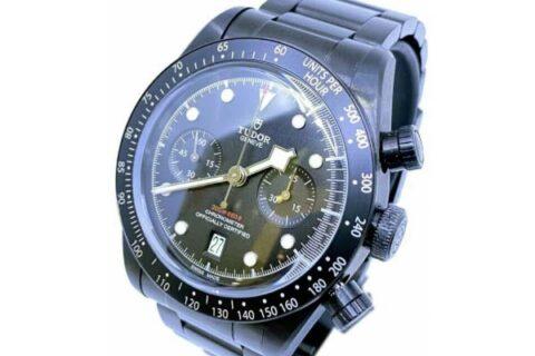 Tudor Heritage Black watch
