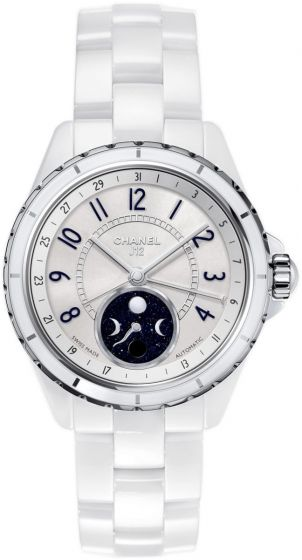 Chanel J12 Moophase White Ceramic watch